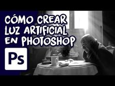 Cómo crear Luz Artificial en Photoshop - YouTube