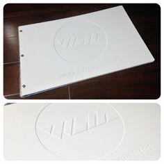 Custom graphic design portfolio book by kloportfolios.com