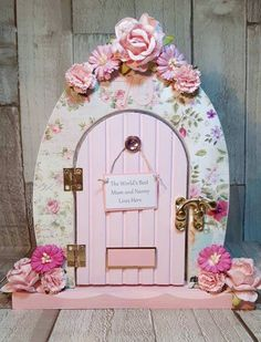How To Decorate Fairy Doors Everyone loves fairies... and our ...