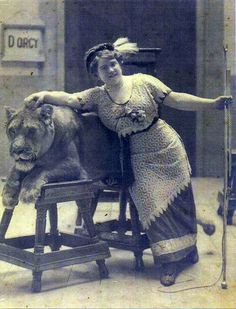 Georgia Galliard 2 - aka Madame D'Orcy, lion tamer