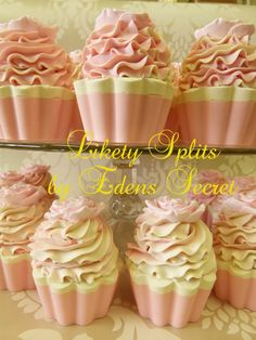 Lickety Splits Cupcake Soap