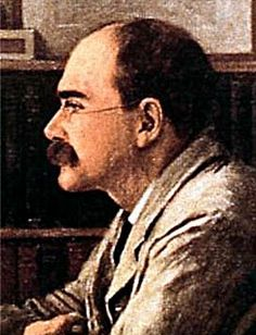 Joseph Rudyard Kipling (30 December 1865 – 18 January 1936) was an English poet, short-story writer, and novelist chiefly remembered for his celebration of British imperialism, tales and poems of British soldiers in India, and his tales for children.  Kipling received the Nobel Prize for Literature in 1907.