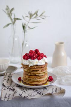 Spelt Lemon Poppy Seed pancakes