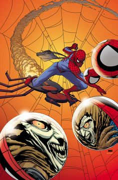 #Spiderman #Fan #Art. (AMAZING SPIDER-MAN #697 Cover) By: STEVE MCNIVEN. [THANK U 4 PINNING!!]