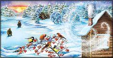 """Seasons of weather"" illustrations for children book.2013/ Minsk"