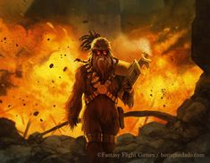 Explosive Rage - STAR WARS: Imperial Assault by BorjaPindado.deviantart.com on @DeviantArt
