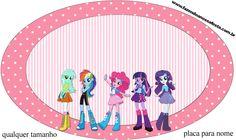 Placa  Equestria Girls (My Little Pony):