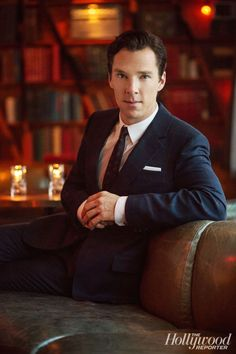 "Benedict Cumberbatch... because how could you say ""no"" to THAT face? SERIOUSLY?!?!?!"