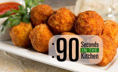 90 Second Fried Risotto Balls