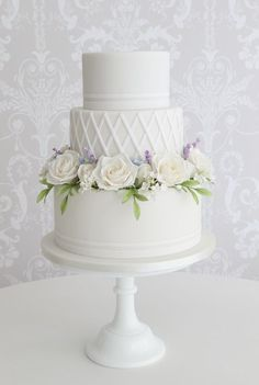 Featured Cake:Zoë Clark Cakes;www.zoeclarkcakes.com; Wedding cake idea.