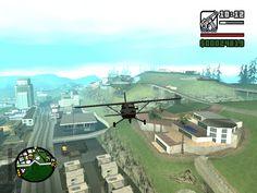 Flying in GTA San Andreas