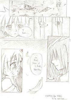 SasuNaru doujin p. 54 by boyxboylove