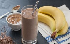There's a reason we call this smoothie a dream. It's made from a delicious (and nutritious) combination of bananas, creamy yogurt, rich soymilk, almond butter and cocoa. A little protein powder adds even more oomph to this quick breakfast or snack.