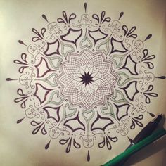 Mandala Designs, keeptdrivealive: Patience