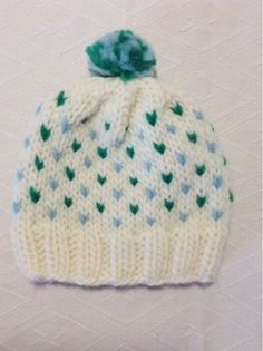 """Why """"loving""""? Well, except for the obvious small hearts and the divine fluffiness, it is a very fast knit which allows you to create quickl..."""