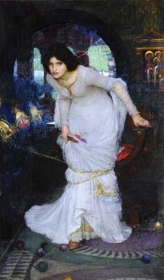 john william waterhouse - the lady of shalot