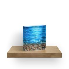 'Luminosity' Acrylic Block by Faye Anastasopoulou