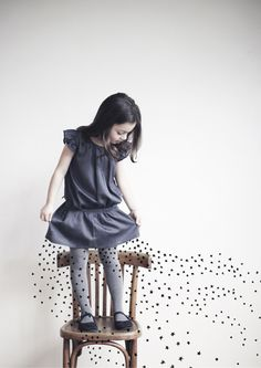 emile et ida | fashion label photographed by melanie rodriguez. illustrations by lucille michieli
