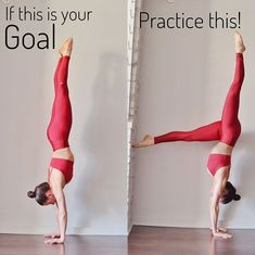 Yoga poses for flexibility gymnastics handstand Best ideas Bikram Yoga, Iyengar Yoga, Zen Yoga, Namaste Yoga, Yoga Training, Handstand Training, Yoga Lyon, Gymnastics Workout, Gymnastics Handstand