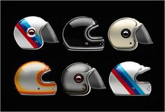 MUNICH 90 COLLECTION MOTORBIKE HELMETS | BY ATELIERS RUBY