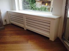 undefined Home Radiators, Home And Living, Living Room, Radiator Cover, Bay Window, New Room, Home Renovation, Home Organization, Bad