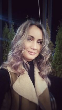 #ombre #hair #rose #grey