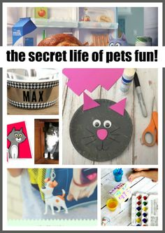 The Secret Life of Pets Crafts and More! | #SecretLifeofPets ad