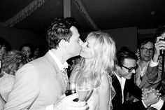 Kate Moss Wedding Reception Pictures by Terry Richardson.