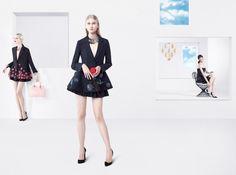 Daria Strokous, Anna Martynova, Daiane Conterato, Marie Piovesan for Christian Dior SS 2013