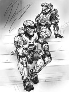 Explore the Halo collection - the favourite images chosen by on DeviantArt. Halo Collection, Girls Time, Everything Is Awesome, Character Description, Drawing Tools, User Profile, Concept Art, Deviantart, Statue