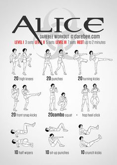 Alice Workout