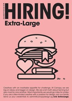 creative job recruitment poster - Google Search