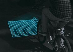 LED Project Terrain For Your Bicycle with Lumigrids