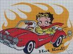 Baby Boop Hot Rod Crochet Pattern