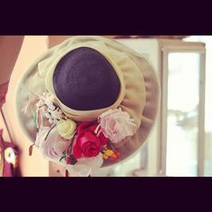 Vintage hat @cavalli nastri milan