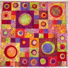 Modèle de patchwork gratuit Couleurs d'été