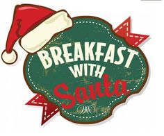 Download a Breakfast with Santa logo you can use for your flyers/emails. Free from the PTO Today clip art gallery.