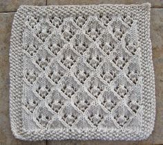 Dishcloth Patterns With | ... pattern, that knits up into a nice dishcloth. The Elfin Lace pattern