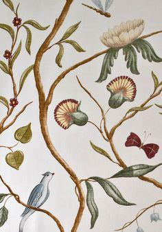 Adam's Eden Fabrics from our Big Prints range