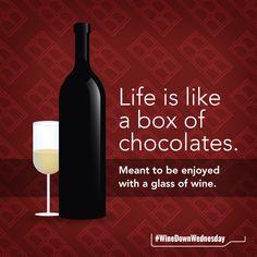 Hope you enjoy this #WineDownWednesday! #hostabeautyhour