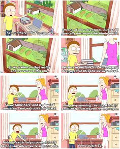 If you aren't watching Rick and Morty, you should probably watch Rick and Morty.