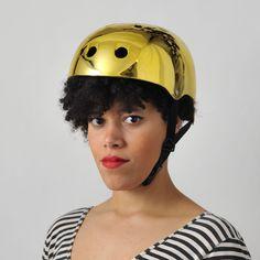 Bobbin Gold Bike Helmet   Cyclechic   Cyclechic