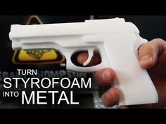 This Man Shows You How To Turn A Styrofoam Gun Into A Metal One | SF Globe you could make anything!
