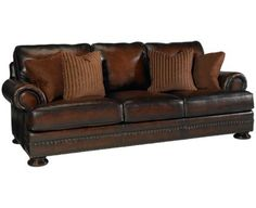 Jordan's Leather couch