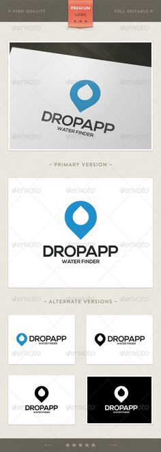 Dropapp Water Finder - Logo Template  #GraphicRiver         Heart Health: is a logo that can be used in e institus health center, hospital, can also be used in non-profit organizations, charitable organizations, among other uses. Its design is very simple and is easy to configure. This ready to print.    Customizable 100%   CMYK   AI – EPS – PSD   Font used Nexa Bold      Created: 4April13 GraphicsFilesIncluded: VectorEPS #AIIllustrator Layered: Yes MinimumAdobeCSVersion: CS Resolution…