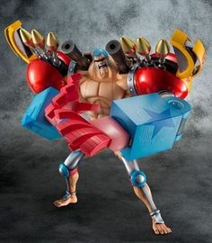 Figurine Franky - Collection P.O.P - #Megahouse - #OnePiece