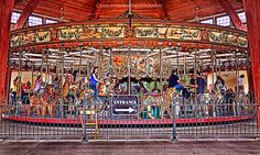 Carousel at Henry Ford's Greenfield Village (Dearborn MI).