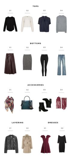 Make Fall Dressing Easier by Creating Your Own Capsule Wardrobe - Verily