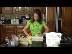 ▶ Rustic Peach Tart : Simply Clean Foods - YouTube