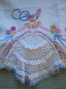 southern belle...my Grandmother from calif made these in the 60's & they arrived in pink tissue